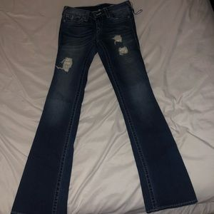 True religion size 27 flare jeans